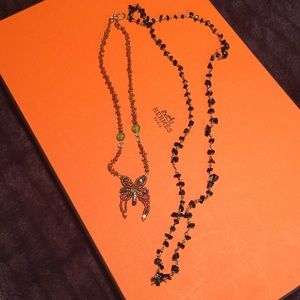 Two necklaces great condition